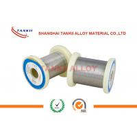 China Round Fecral Alloy Wire Smooth Surface Stable Resistivity For Resistor Elements wholesale
