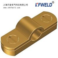 China Earth Rod Ground Clamp, Copper material, Ground cable clamp, Goodelectricconduction wholesale