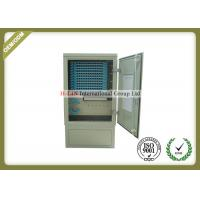 China 144 Core Outdoor Fiber Optic Distribution Cabinet With Various Types Connector wholesale