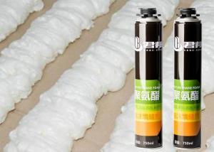 China 750ml Insulation Sealant Fireblock Pu Gap Filler Polyurethane Foam wholesale