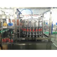 China Aluminum Sealing Carbonated Beverage Beer Can Filling Machine with CSD 40 Heads wholesale