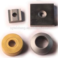 China Custom carbide insert corrugated board cutters knife cemented brazed tips tool parts on sale