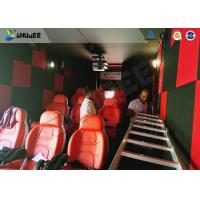 China 9D Cinema Simulator XD Theatre With 360 Degree VR Glasses / Motion Chair wholesale