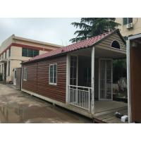 China Fabrication Steel Structure Villa , Q235B / Q345B Painting Residential Prefab Steel House wholesale