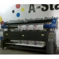 China Professional Dye Textile Fabric Sublimation Printer Eco solvent / DX7 Printhead wholesale