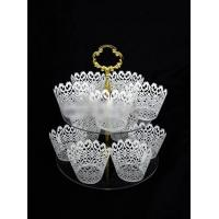 China CD (91) tiered cake stands for wedding cakes wholesale