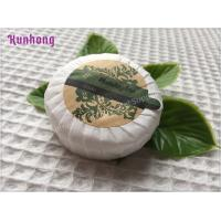 China Customized Round White hotel small hotel toilet soap bar soap wholesale