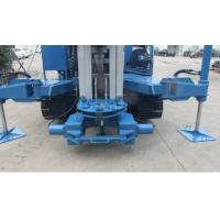China 7000 MM Stroke Anchor Drilling Rig Machine 25 T Pull Capacity 1.5 Ton Winch wholesale