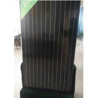 China 30V 260W Black Grade A Solar Panel Anti Reflective Glass For Home Lighting Indoor wholesale