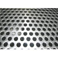 China Beauty Round Hole Shape Perforated Steel Mesh Sheets Galvanized 5-10mm Diameter wholesale