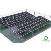 Buy cheap Zinc Coated Steel Aluminum Solar Panel Mounting System Exclusive Patent from wholesalers