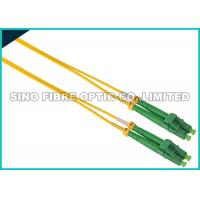 China Simplex ST To LC Fiber Patch Cable Singlemode 900 Micron Tight Buffered on sale