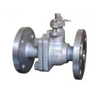 China 2 Pieces Floating Ball Valve Operating Type Lever Handle Pressure Rating Pn25 wholesale