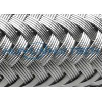 Buy cheap High Grade Stainless Steel Braided Hose Sleeve 0.10 - 0.30mm Easy Installation from wholesalers