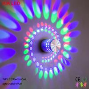 China 6W inside RGB modern LED wall light/LED decoration light/LED home light/Decoration wall led lighting wholesale