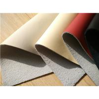 China 25 Meters Length Eco Friendly Leather , Nappa Surface Car Leather Upholstery wholesale