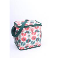 China Outdoor Green Polyester Cooler Bag Insulated Cooler Lunch Bags Men Sewing wholesale