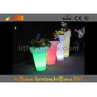 China Professional LED Plant Pots Waterproof Garden Decor With 50 60Hz Frequency wholesale