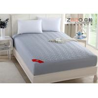 China 180T Professional Hotel Mattress Protector Cotton Nice Hollow Fiber Filling wholesale