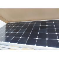 Quality High Transmittance Solar Panel Glass , Flat Shape Photovoltaic Transparent Glass for sale