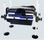 China Aluminum Adjustable Powder Coated Fishing Seat Boxes STBX014 wholesale