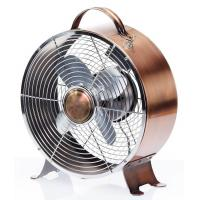 China Copper 9 Inch Antique Electric Fans SAA Metal With 30W 2 Speed Motor on sale