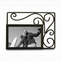 China Metal Photo Frame, Available in Various Colors, BSCI Audit wholesale