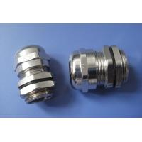 China Antirust Nickel Plated Brass Cable Gland , IP68 Connector PG7 Cable Gland wholesale