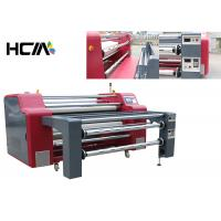 China Rotary Heat Transfer Dye Sublimation Machine Professional Rewinding Function wholesale