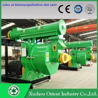 China Factory Supply High Capacity Biomass Ring Die Horizontal Wood Pellet Making Mill Machine wholesale