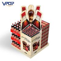 China Promotional Pallet Display Stands CMYK Printing Professional For Chain Store wholesale
