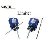 China Double Poles Blue Cross Limiter Made By Galvanized Steel Used For Industrial Work on sale