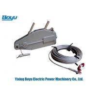 Buy cheap Transmission Line Stringing Tools Lever Block Wire Rope Pulley Hoist Lifting from wholesalers