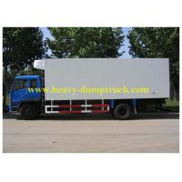 China Refrigerated freezer box truck 5 tons RHD / LHD for seafood transport wholesale