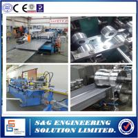 China Heavy Duty Sheet Metal Roll Former Machine , 11 KW Cable Tray Roll Forming Lines wholesale