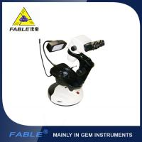 China Cup dolly Generation 2nd  Swing arm type Gem Microscope With F07 binocular lens wholesale