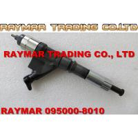 China DENSO common rail injector 095000-8010, 095000-8011 for HOWO A7 VG1246080051 wholesale
