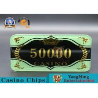 China Custom Ceramic Clay And Plastic Casino Poker Chips With Custom Logo wholesale