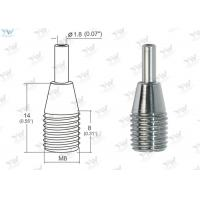 China Small Brass Cable Gripper Chrome Finish Color For Use Of Ø 0.8 ~1.2 Mm Wire wholesale