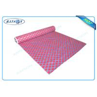 China Printed Non woven Fabric PP Spunbond Non Woven Cloth Shrink Resistant wholesale