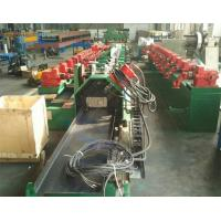 China High Speed Fly Cutting Purlin Roll Forming Machine With Two Sides Gear Box Driving wholesale