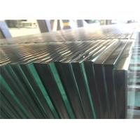 China Clear Tempered Safety Glass 3mm - 19mm Toughened Glass For Partition Wall wholesale