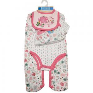 China Pink Baby Girl Clothing Sets Boutique Clothing Softest Organic Cotton wholesale
