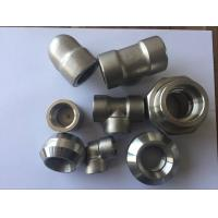 China Super Duplex Stainless Steel Pipe Fittings S32750 2507 1.4410 ASTM A182 F53 Forged Elbow Tee Cross Pipe Cap on sale