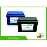 China Long Cycle Life Lithium Ion Battery Rechargeable , Lithium Deep Cycle Battery wholesale