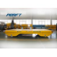 China 20 ton cable drum powered steerable dies rail transfer carts wholesale