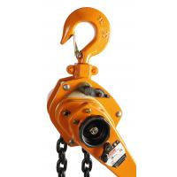 China High Effective 3m Manual 3 Ton Lever Chain Hoist / Mini Lever Pulling Machine wholesale