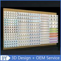 China Mobile phone shop interior accessories wall display,cell phone store floor standing display racks with custom size logo wholesale