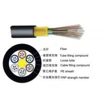 China Single Jacket None Metallic Outdoor Fiber Optic Cable GYFTY With Small Diameter on sale
