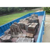 China BTMCr15 High Cr Cast iron Stepped Liners Cement Mill Liners High Abrasion Performance for Delivery wholesale